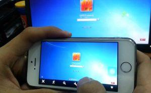 điều khiển máy tính bằng iphone teamviewer