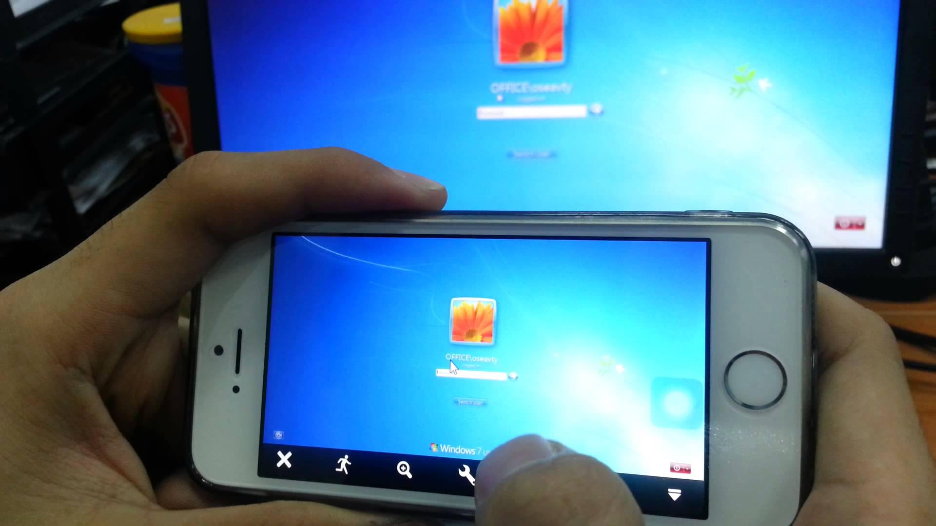 Cách điều khiển Máy tính từ xa trên iPhone với TeamViewer