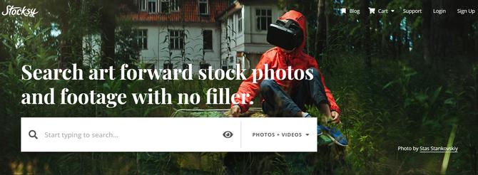Stocksy Bán ảnh trực tuyến