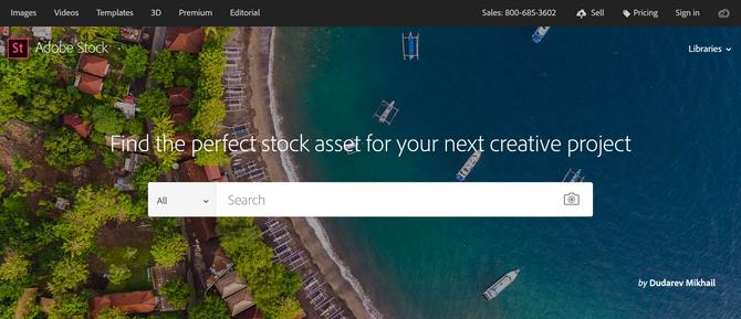 Adobe Stock Bán ảnh trực tuyến
