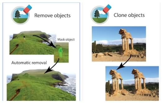 Xóa các đối tượng trong ảnh với TouchRemove
