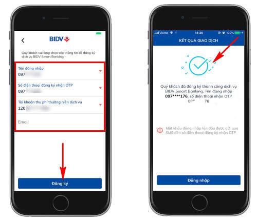 thanh toán QR Pay với BIDV SmartBanking