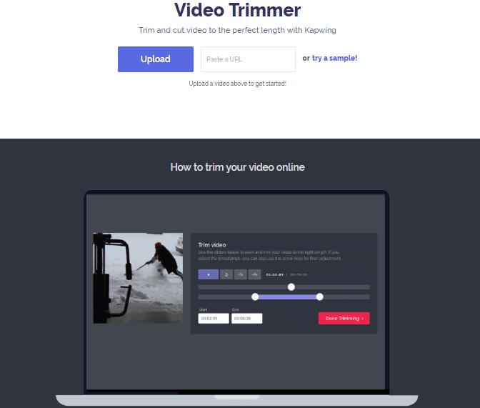 cách cắt video trên máy tính