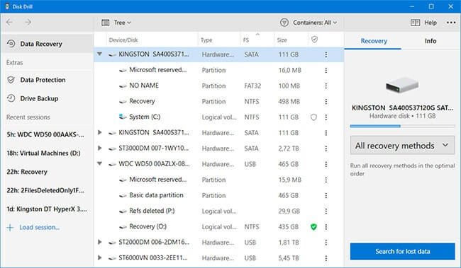 Xếp hạng top 5 phần mềm phục hồi dữ liệu free