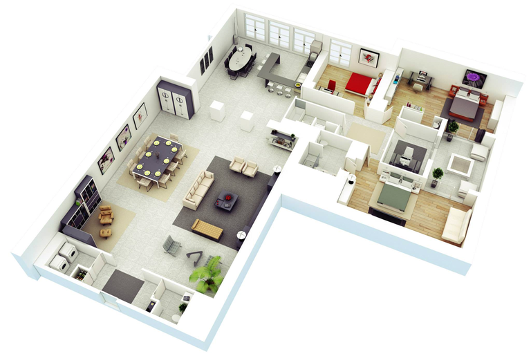 Simple and free housing interior design software