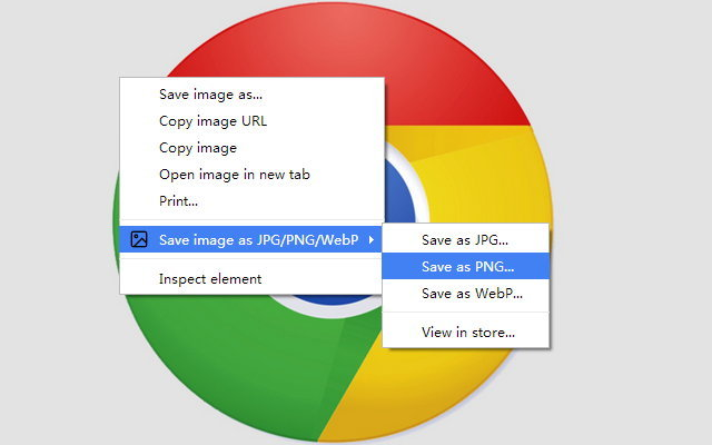 How to convert WebP images into PNG, JPG