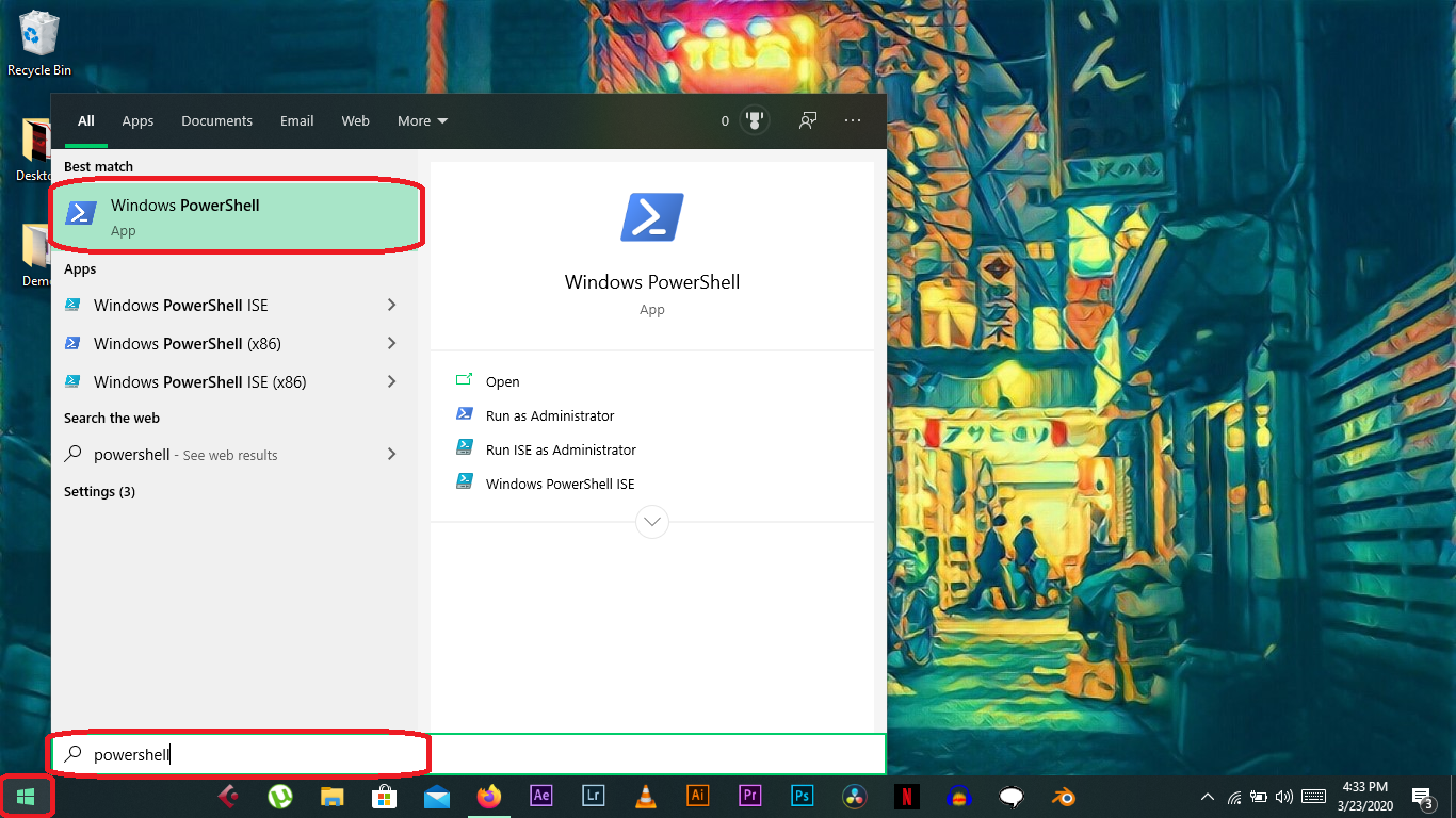 Disable applications running in the background Windows 10